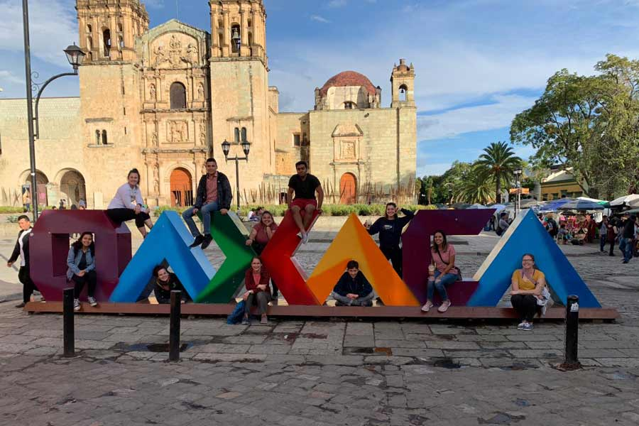 Knox students explored possible careers in Oaxaca, Mexico