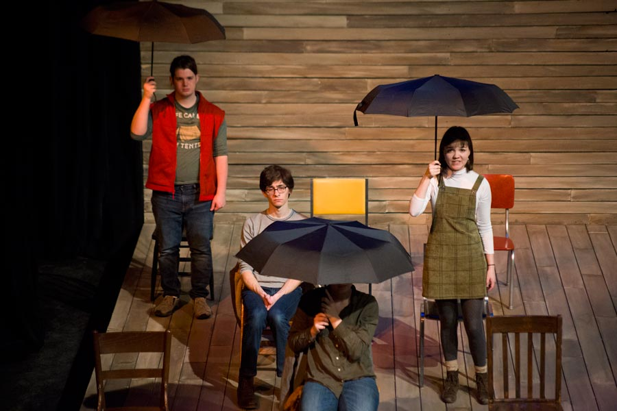 In Knox's immersive Repertory Theatre Term, students team up on all aspects of producing two theatrical works for public audiences.