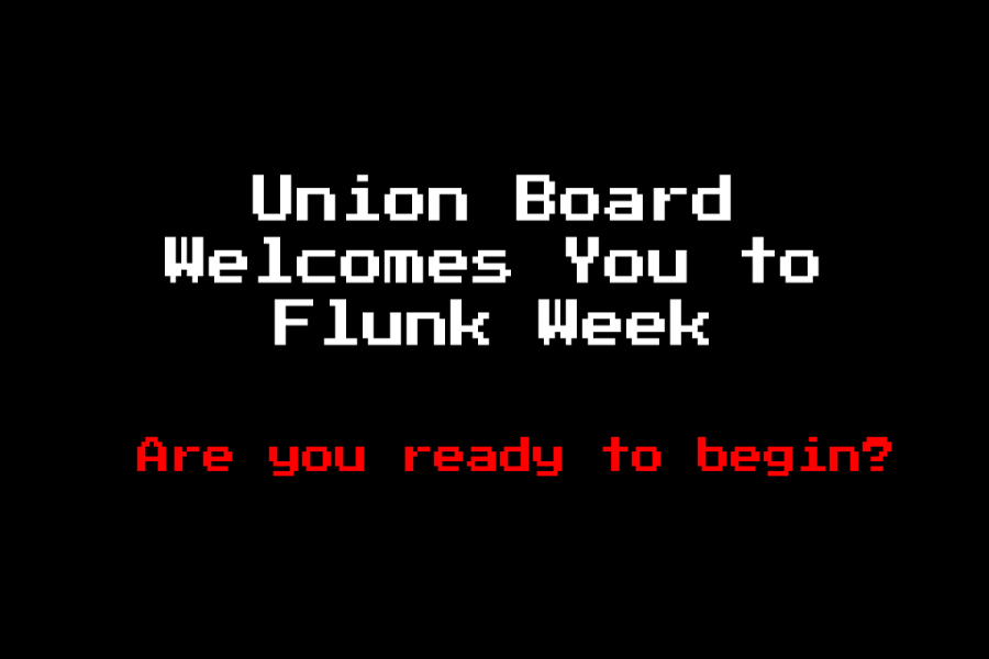The Union Board held a virtual Flunk Week 2020 to bring students together online.