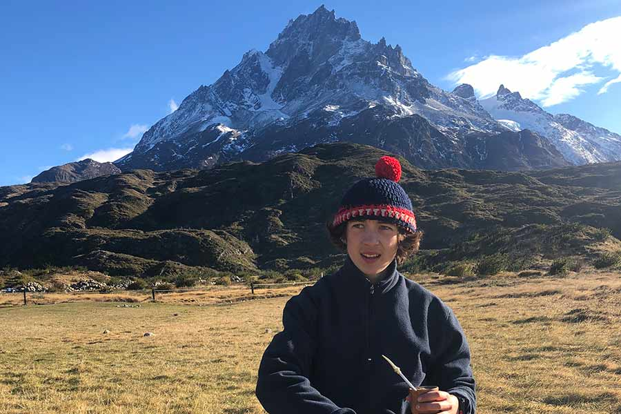 Isaac Hughes '21 studied abroad in Chile, and immersed himself in the country's history and culture.