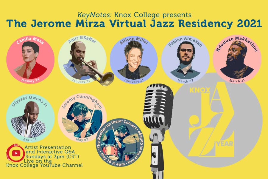Jerome Mirza Virtual Jazz Residency Will Go Online for 2021
