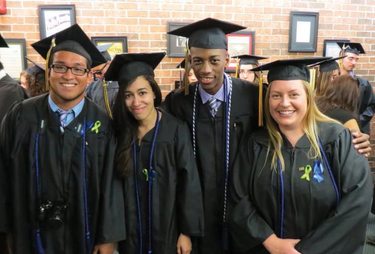 TRIO Graduates.