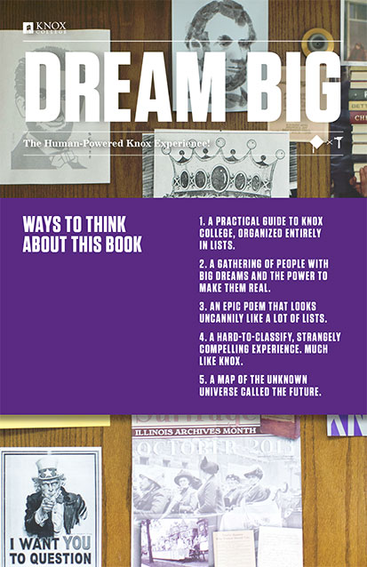 Dream Big - Senior Viewbook
